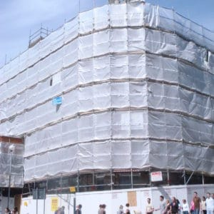 Construction Mesh/Screen Tarpaulin